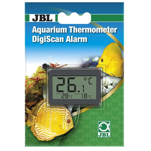 JBL - Aquarium Thermometer - Digiscan - Alarm