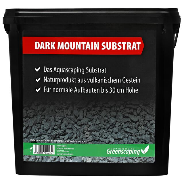 Greenscaping - Dark Mountain Substrat