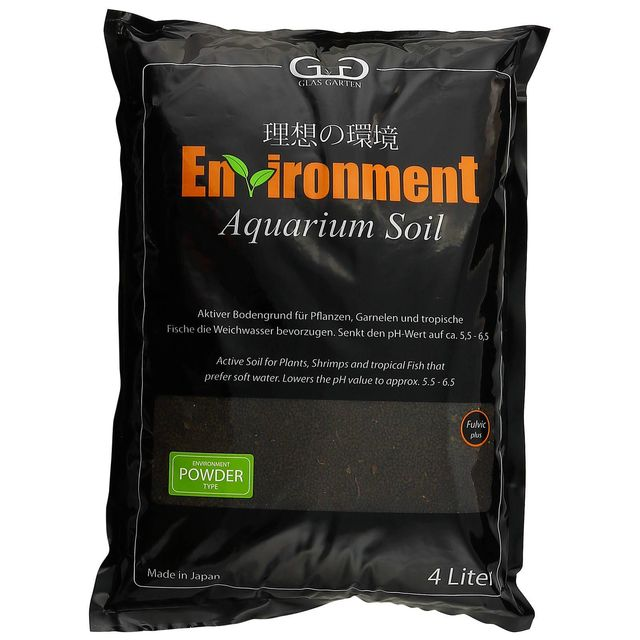 GlasGarten - Environment - Aquarium Soil Powder - 4 l