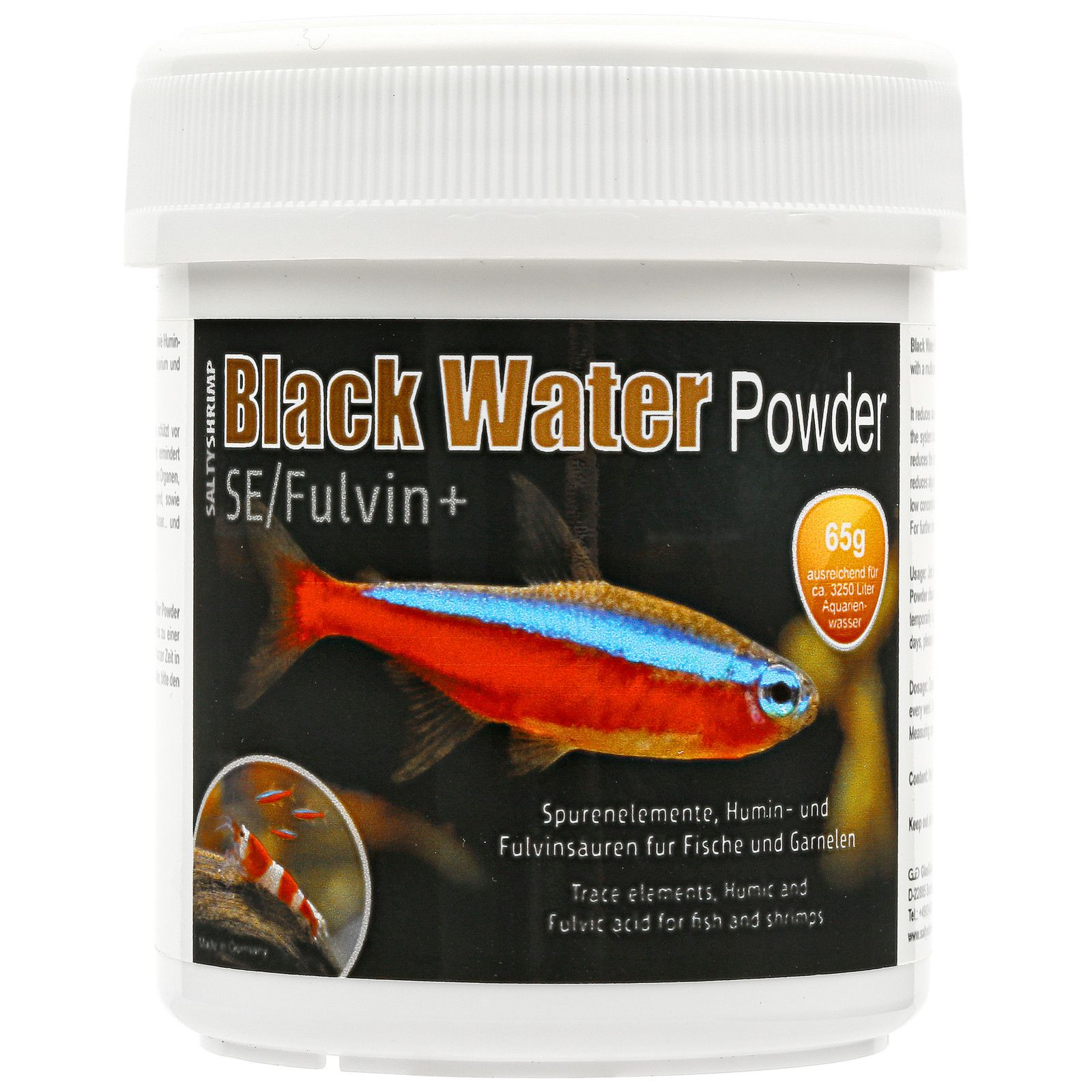 SaltyShrimp - Black Water Powder SE/Fulvin+