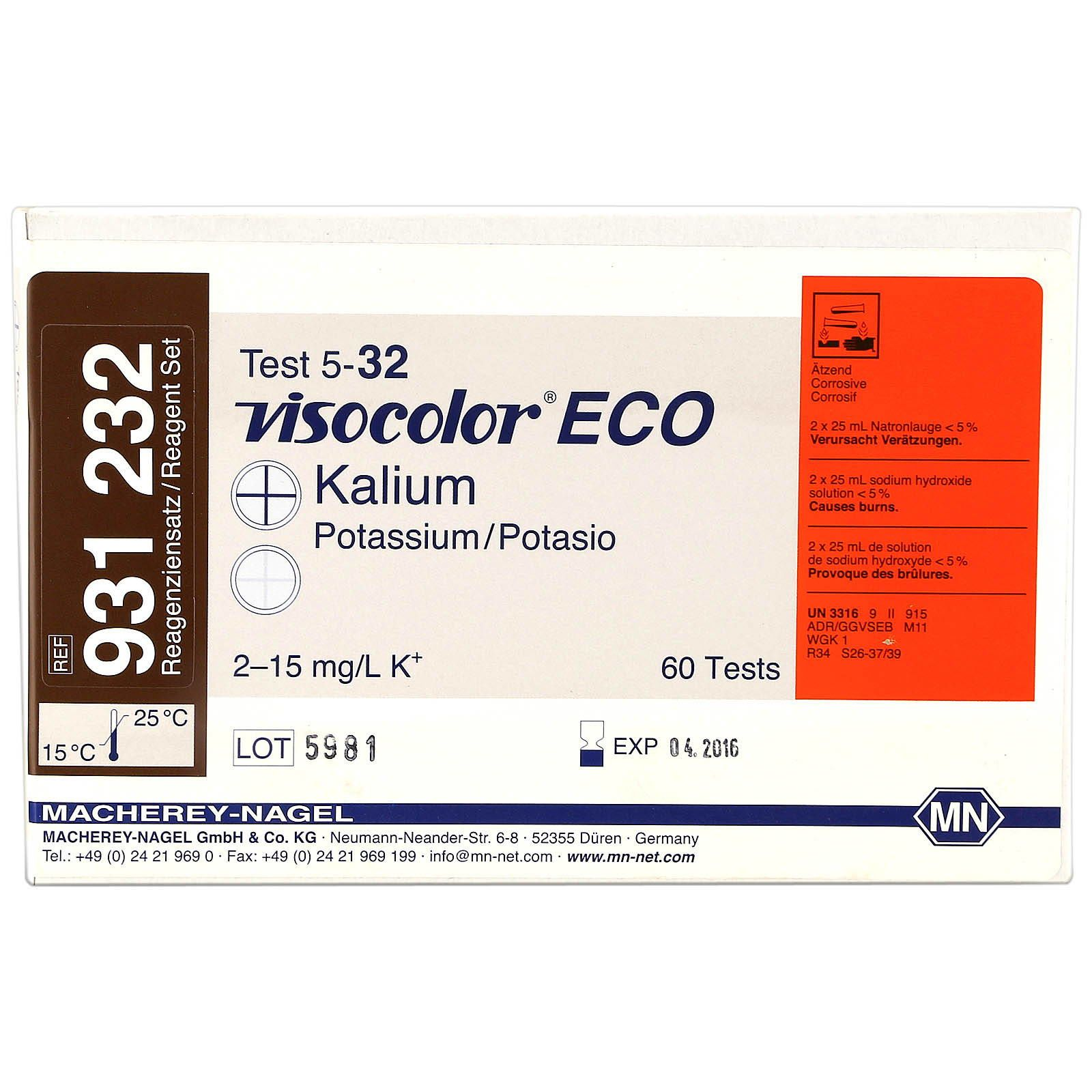 Macherey-Nagel - Visocolor ECO - Kalium