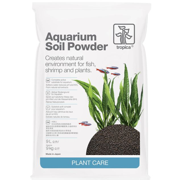 Tropica - Aquarium Soil - Powder - 9 l