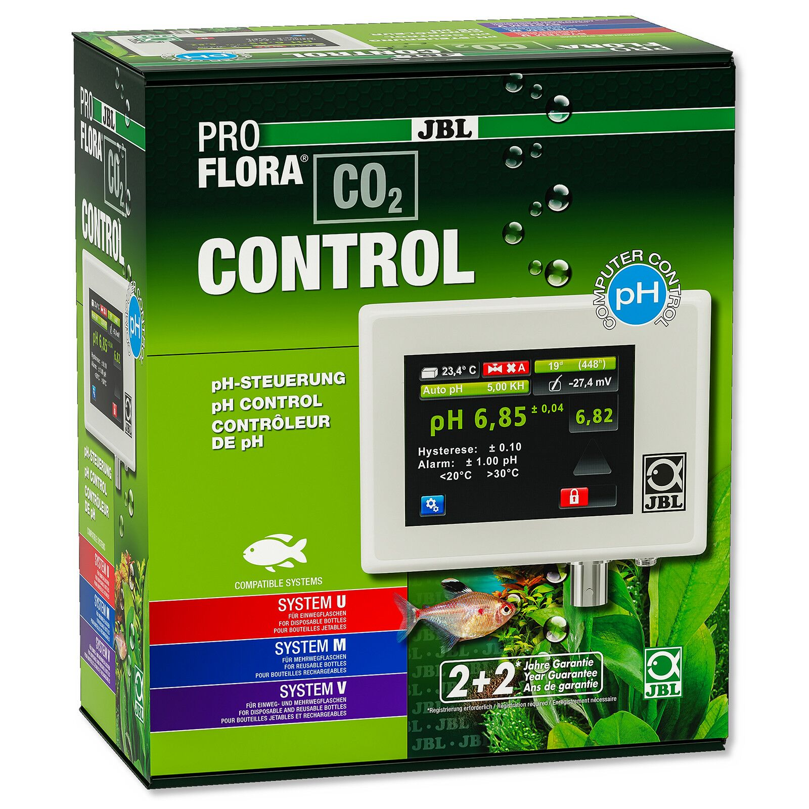 JBL - ProFlora - pH-Control Touch
