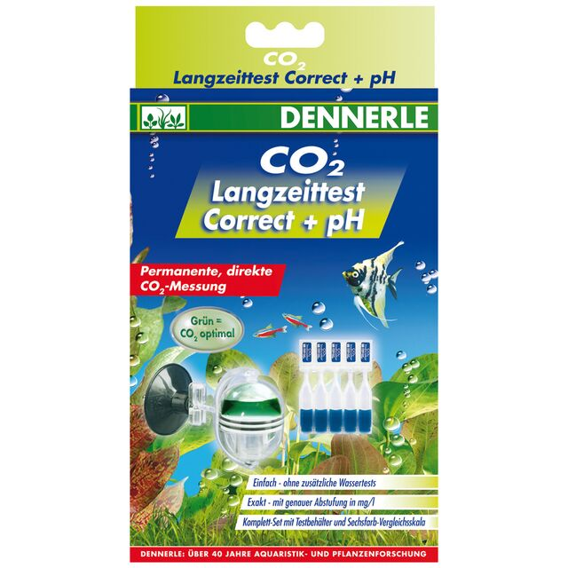 Dennerle - CO2 Langzeittest Correct + pH