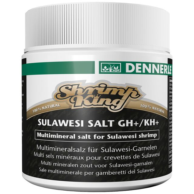 Dennerle - Shrimp King - Sulawesi Salt GH+/KH+