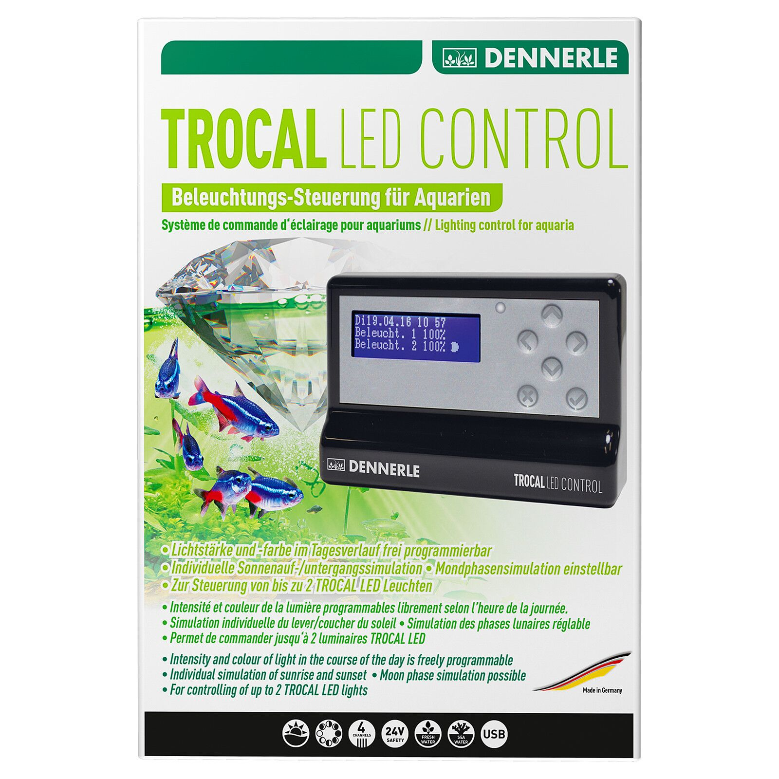 Dennerle - Trocal LED - Control