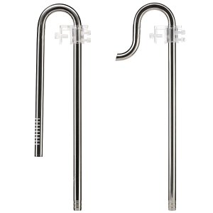 Aquasabi - Filter Ein-/Auslauf - Stainless Steel - Set