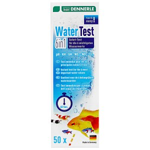 Dennerle - Water Test - 6 in 1