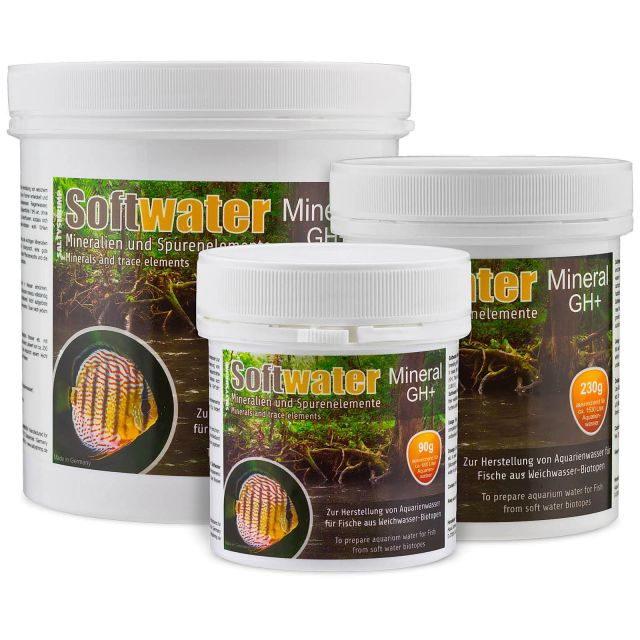SaltyShrimp - Softwater Mineral GH+ - 90 g
