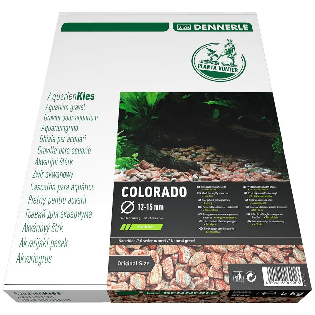 Dennerle - Plantahunter-Kies - Colorado - 12-15 mm - 5 kg