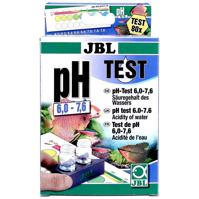 JBL - pH Test-Set - 6,0-7,6
