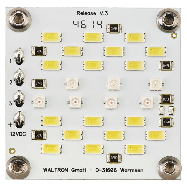 daytime - cluster modul 2x - Ultra White