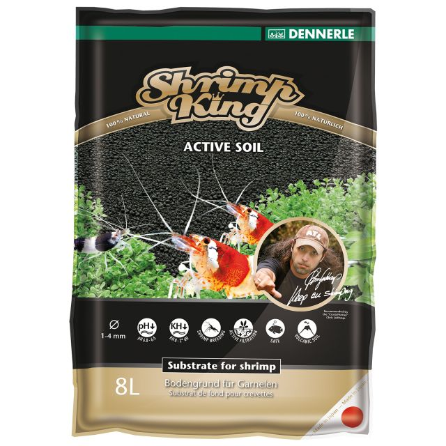 Dennerle - Shrimp King - Active Soil - 4 l