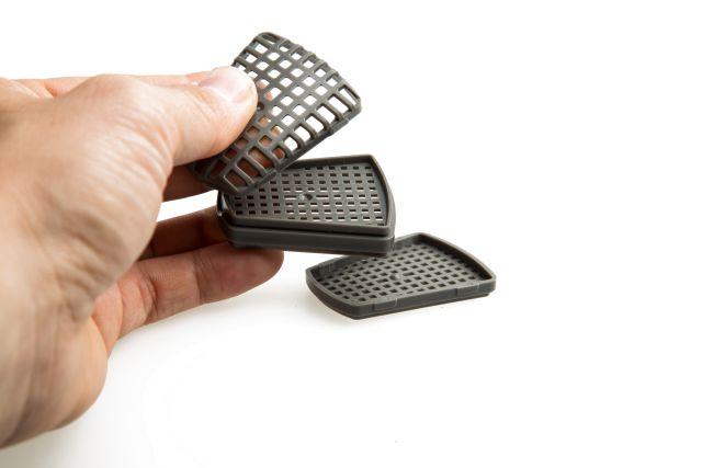 multi-chambered plastic pads