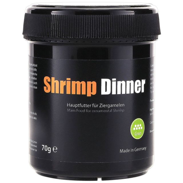 GlasGarten - Shrimp Dinner - Gran - 70 g