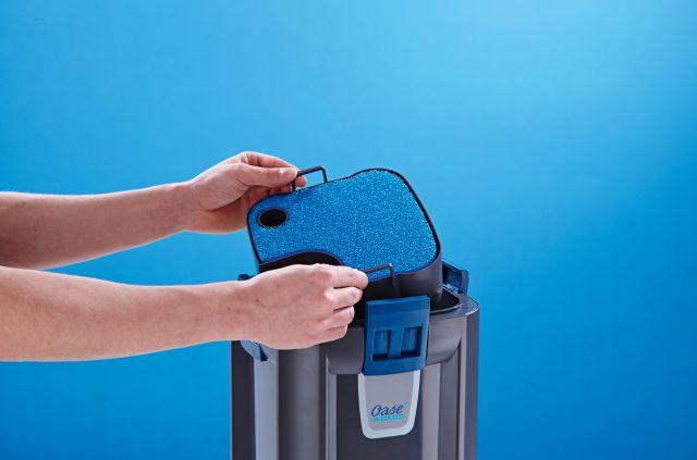 BioMaster Filterkorb mit Schwamm