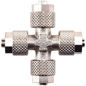 Aquasabi - Kreuz-Verbinder - 6/4 mm