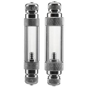 Dici - Aluminium Blasenzähler mit Rückschlagventil