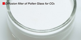 ADA Pollen Glas Diffusionsfilter CO<sub>2</sub>