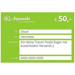 Aquasabi - 50,- Gutschein