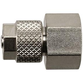 Aquasabi - Gerader Aufschraubverbinder - G1/8 x 6/4 mm
