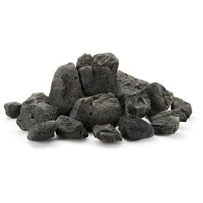 Schwarze Lava