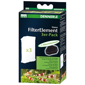 Dennerle - Nano Filterelemente - 3x