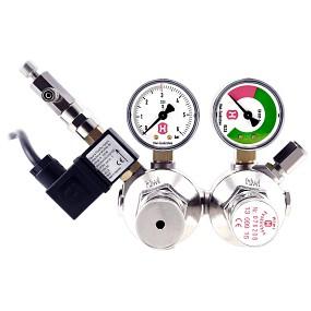Hiwi - Doppelkammer Druckminderer + MV & RSV