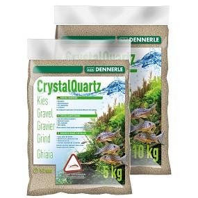 Dennerle - Kristall-Quarzkies - naturweiß