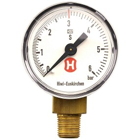 Hiwi - Arbeitsdruckmanometer - 6 bar
