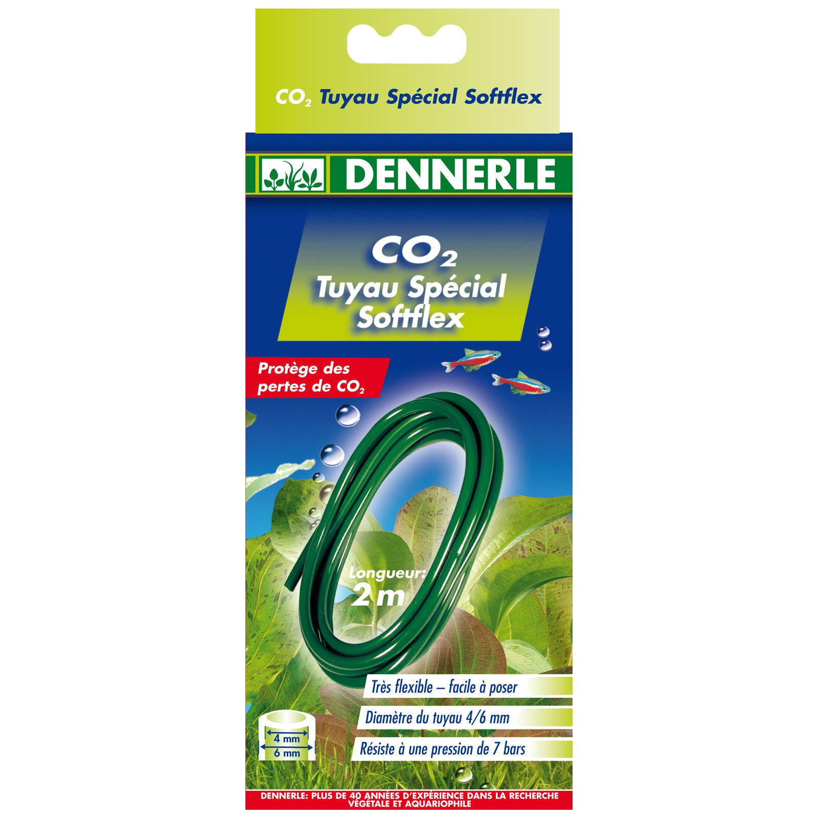 Dennerle - CO2 Schlauch Softflex - 2 m