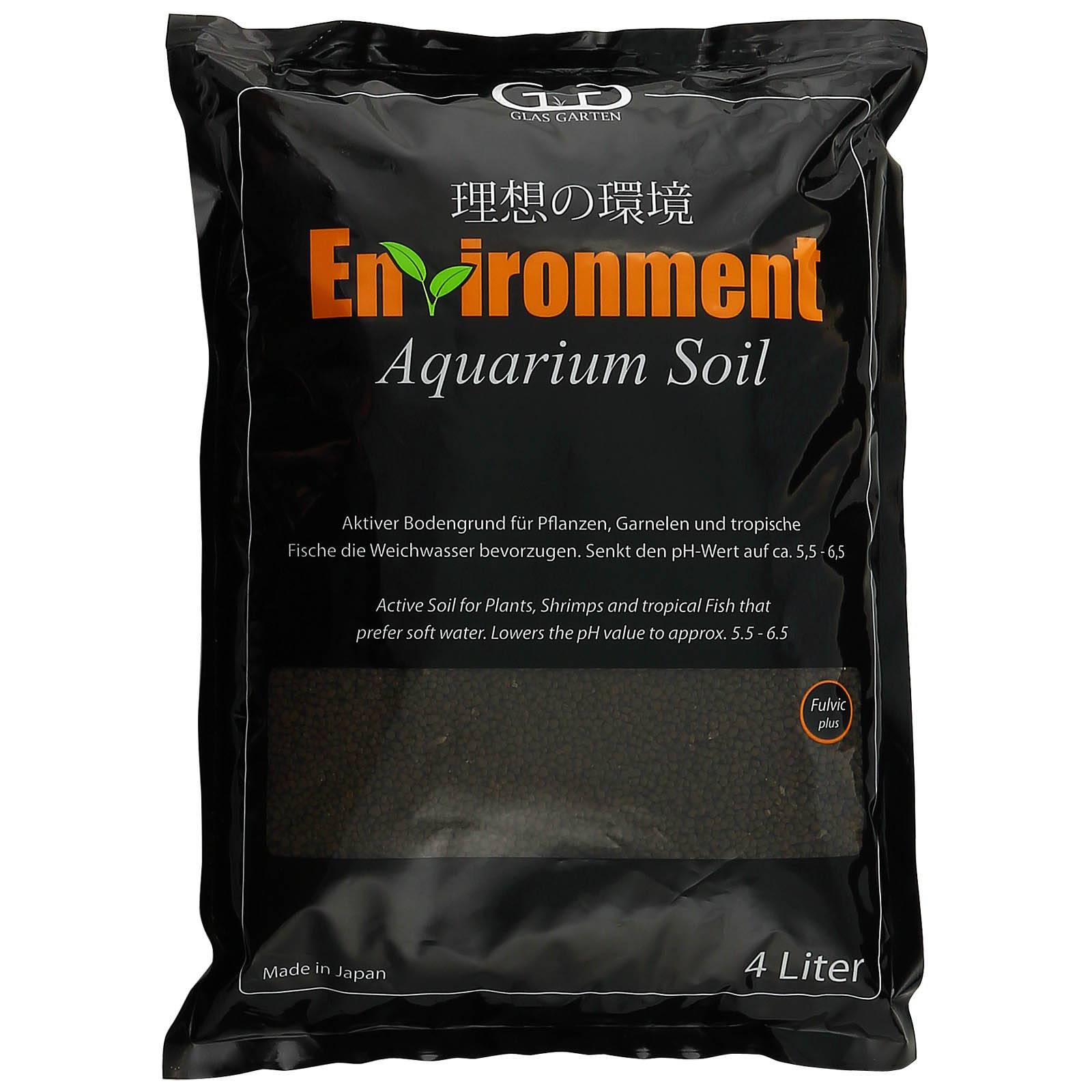 Glasgarten environment aquarium soil for Soil environment