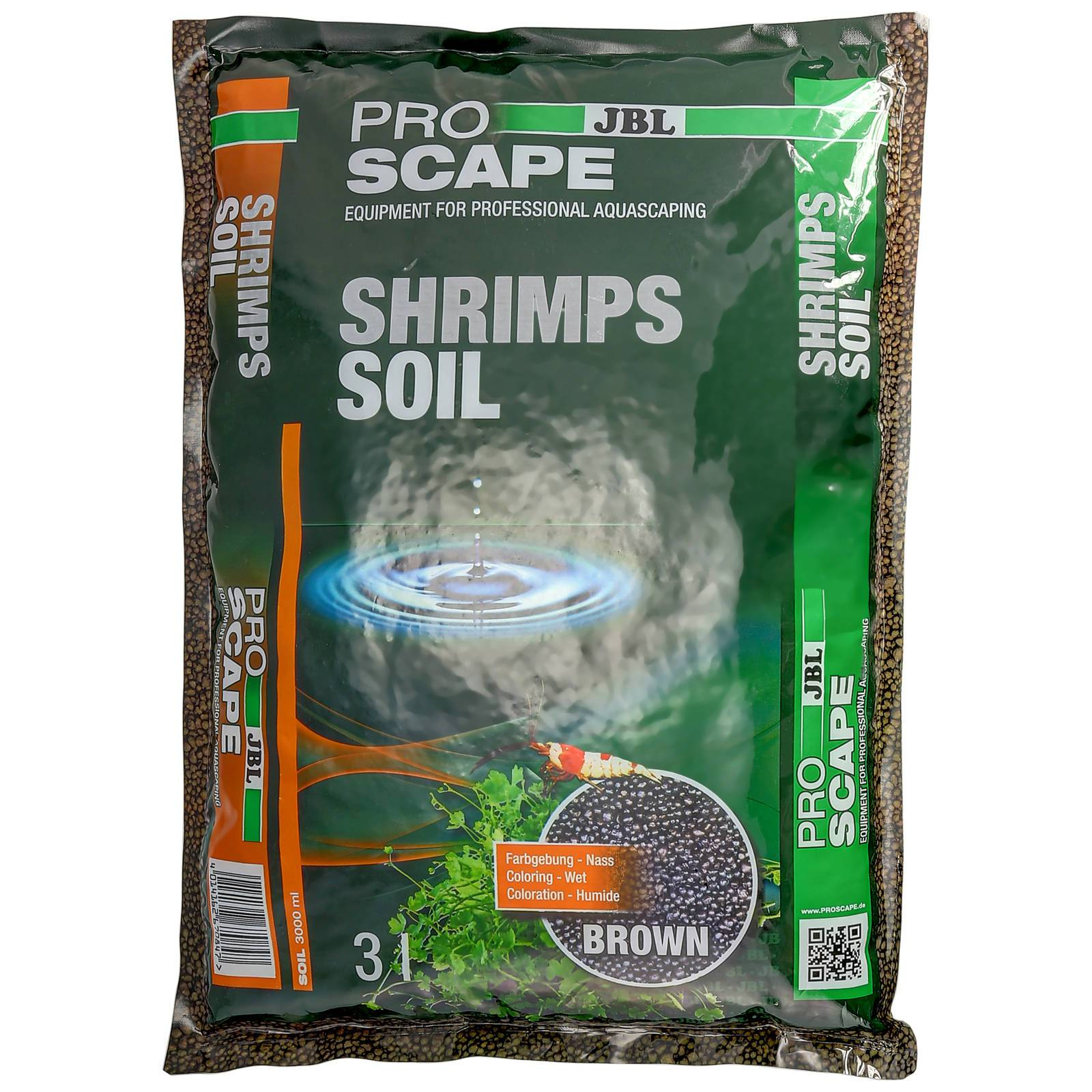 JBL - ProScape - ShrimpsSoil - Brown - 3 l