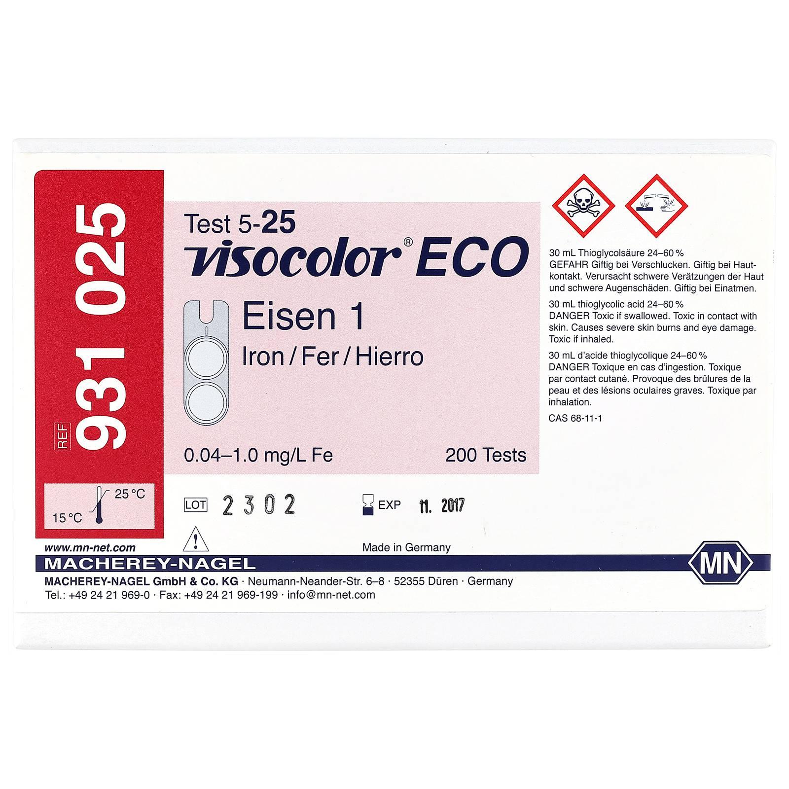 Macherey-Nagel - Visocolor ECO - Eisen 1