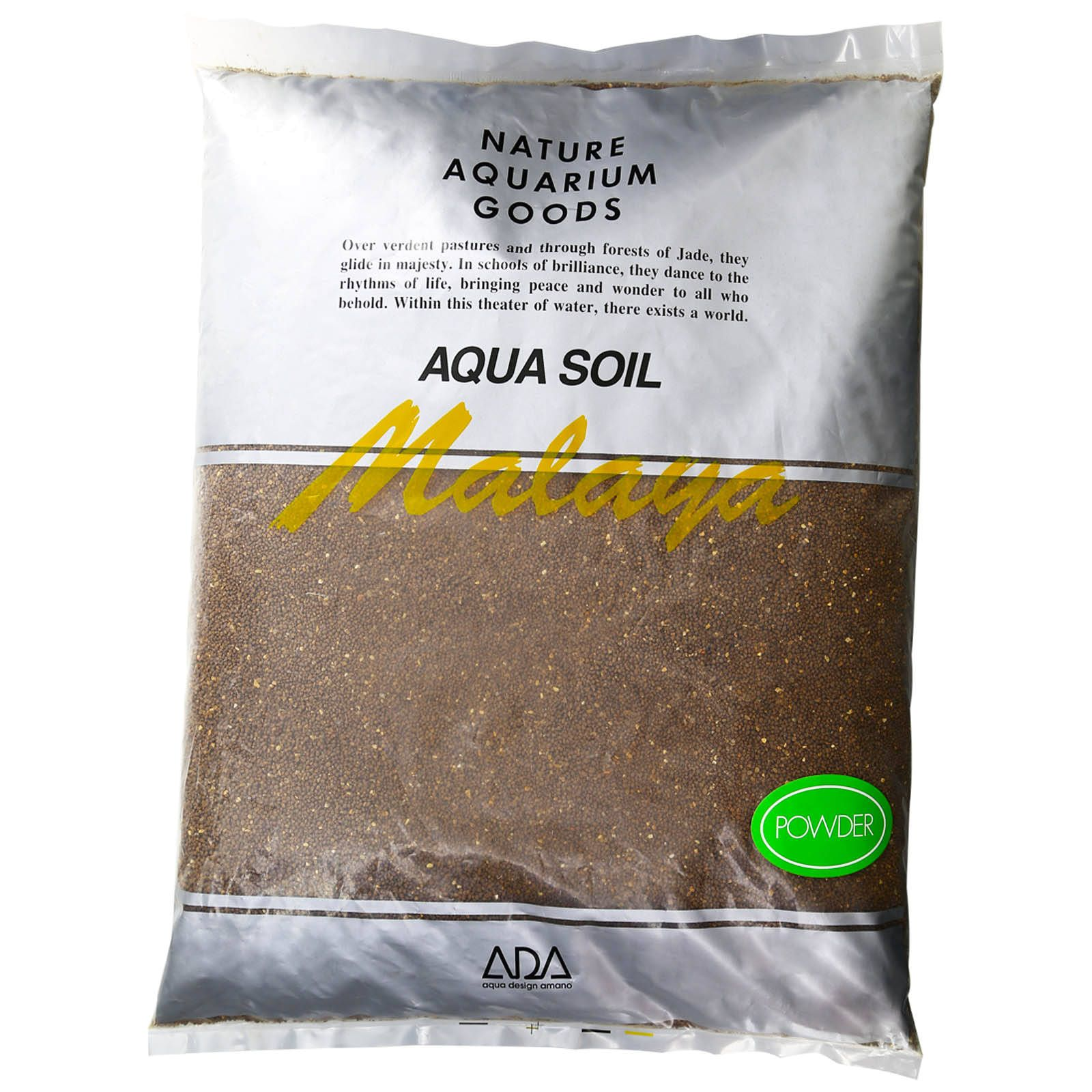 ADA - Aqua Soil - Malaya Powder - 9 l