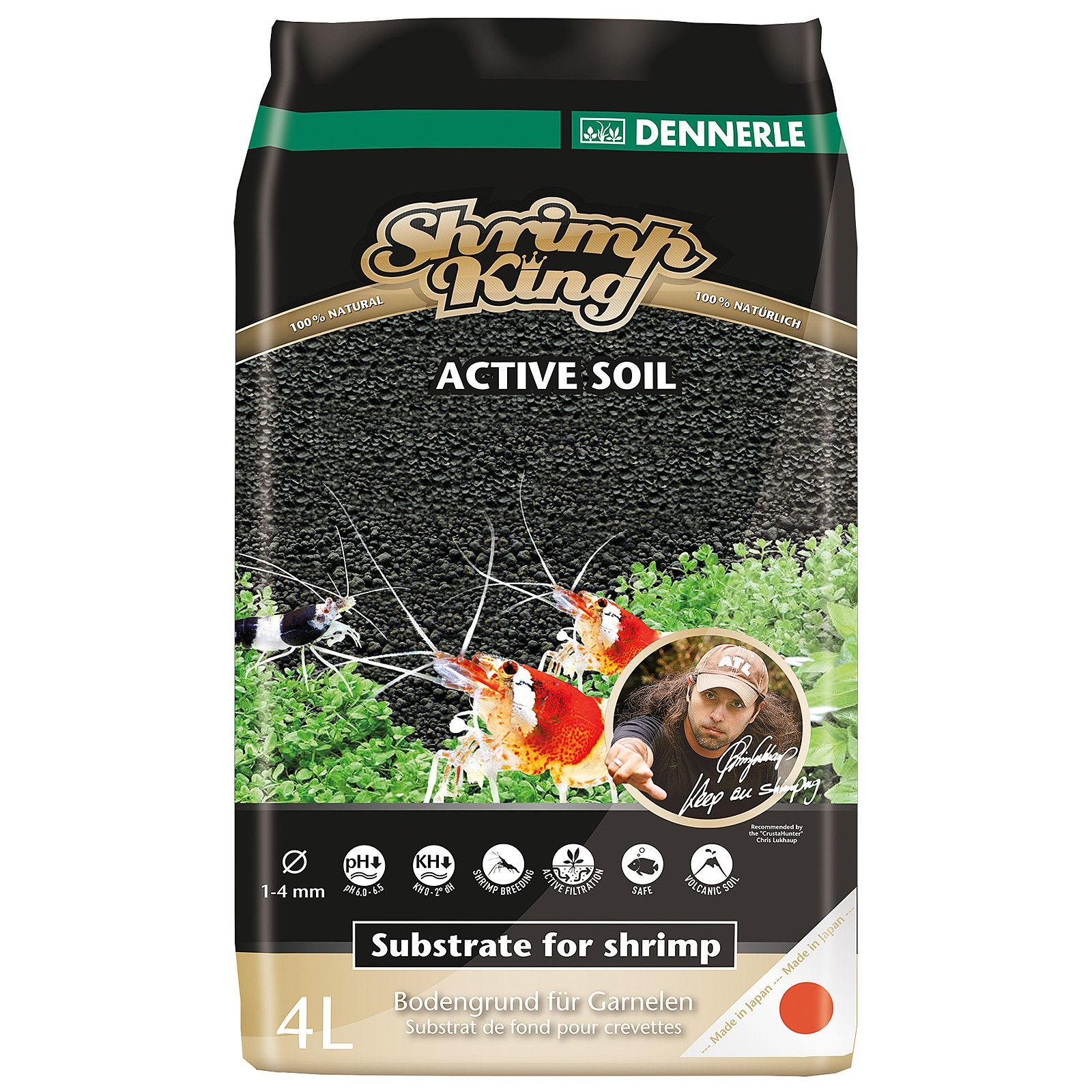 Dennerle - Shrimp King - Active Soil - 8 l