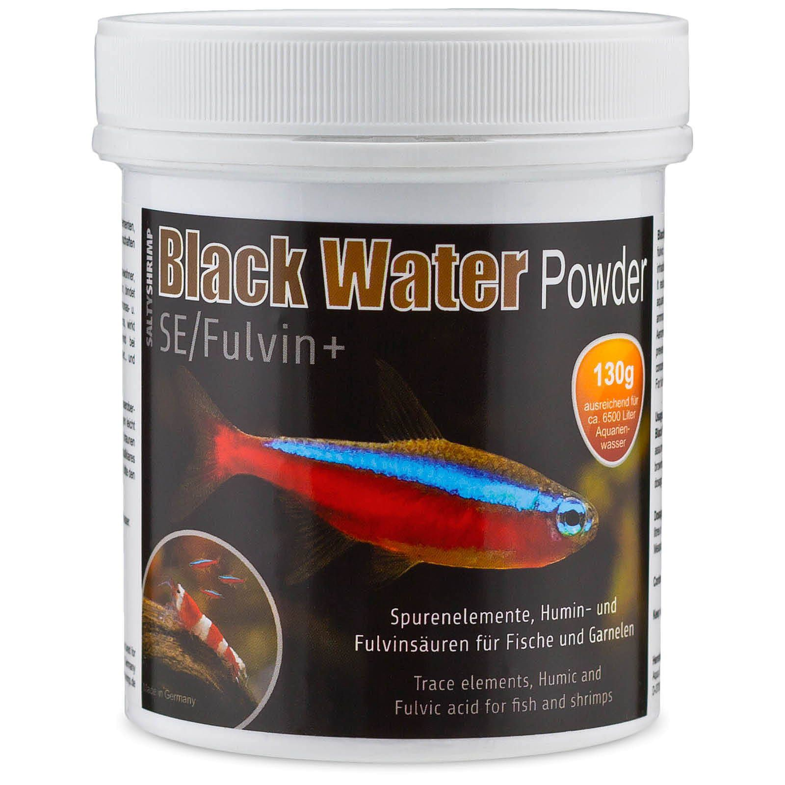 SaltyShrimp - Black Water Powder SE/Fulvin+ - 130 g