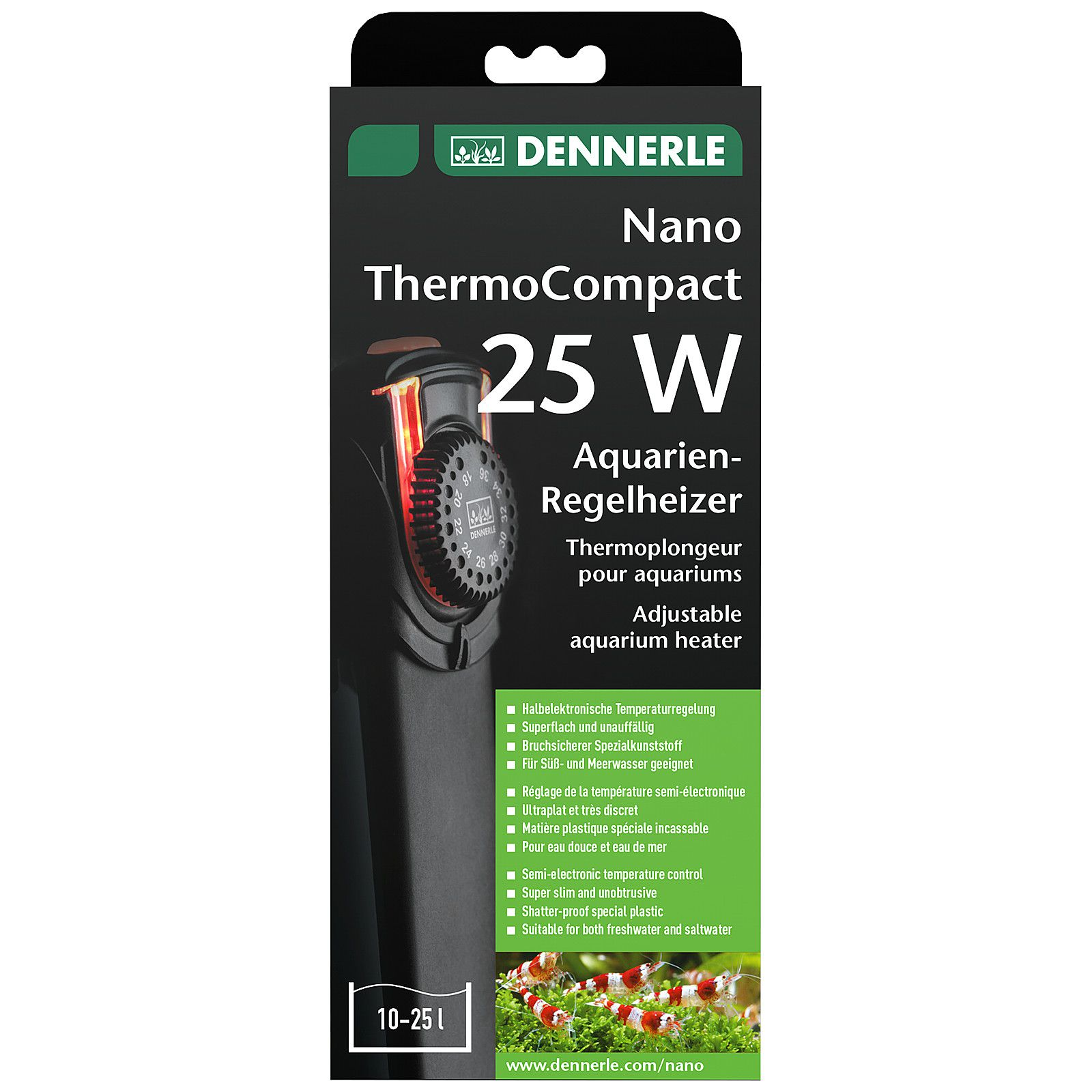 Dennerle - Nano ThermoCompact - 50 W