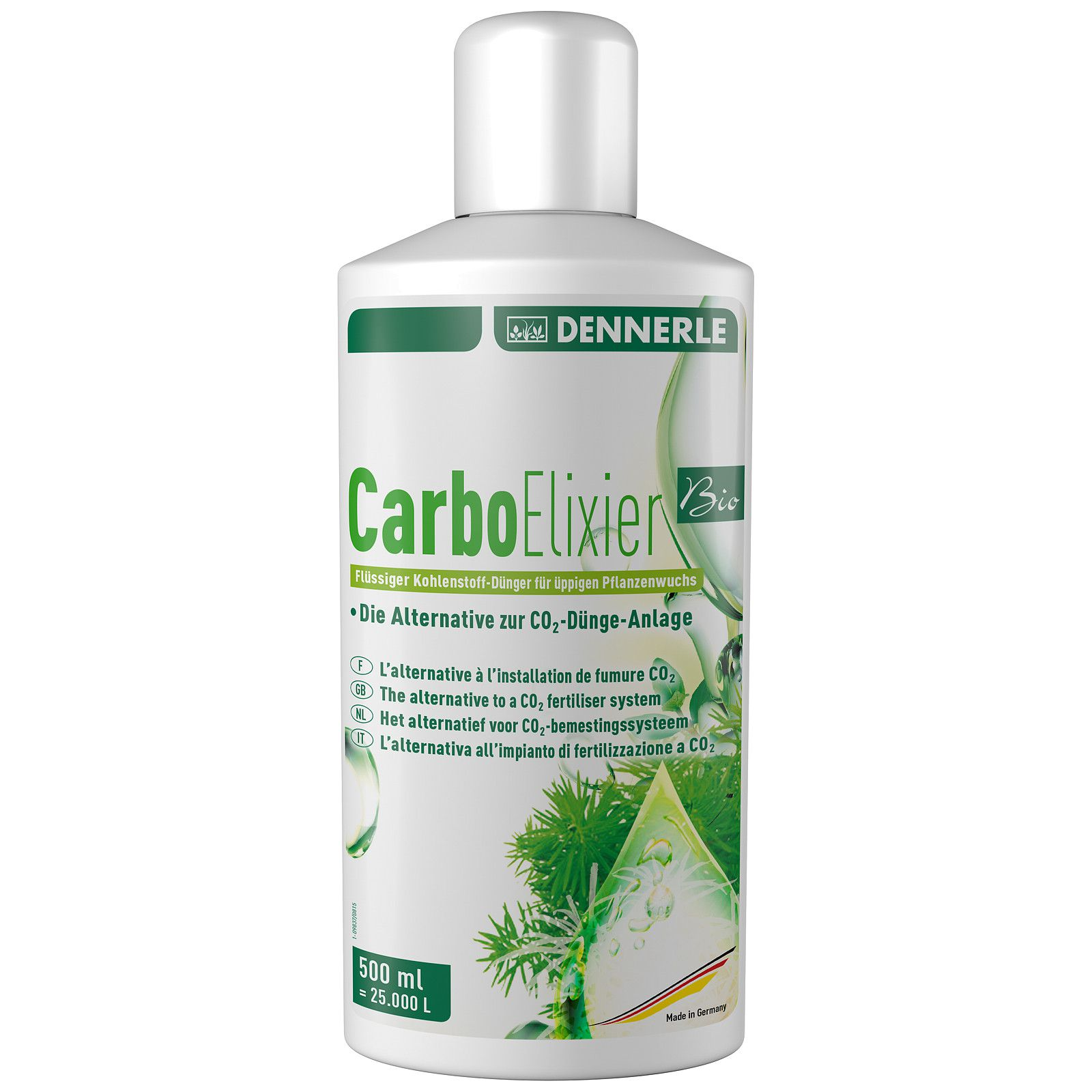 Dennerle - Carbo Elixier Bio - 500 ml