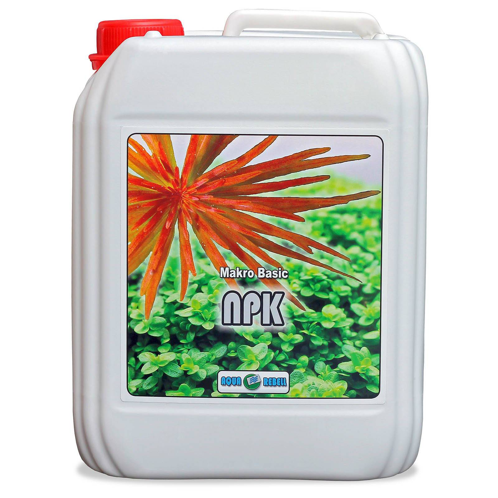 Aqua Rebell - Makro Basic - NPK - 5.000 ml