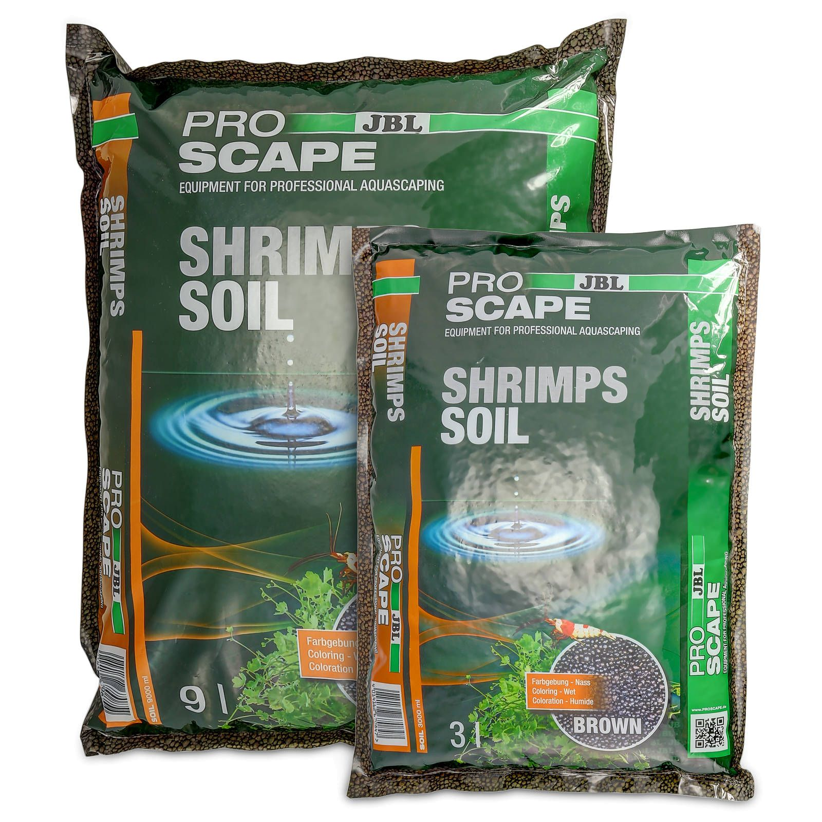 JBL - ProScape - ShrimpsSoil - Brown - 9 l