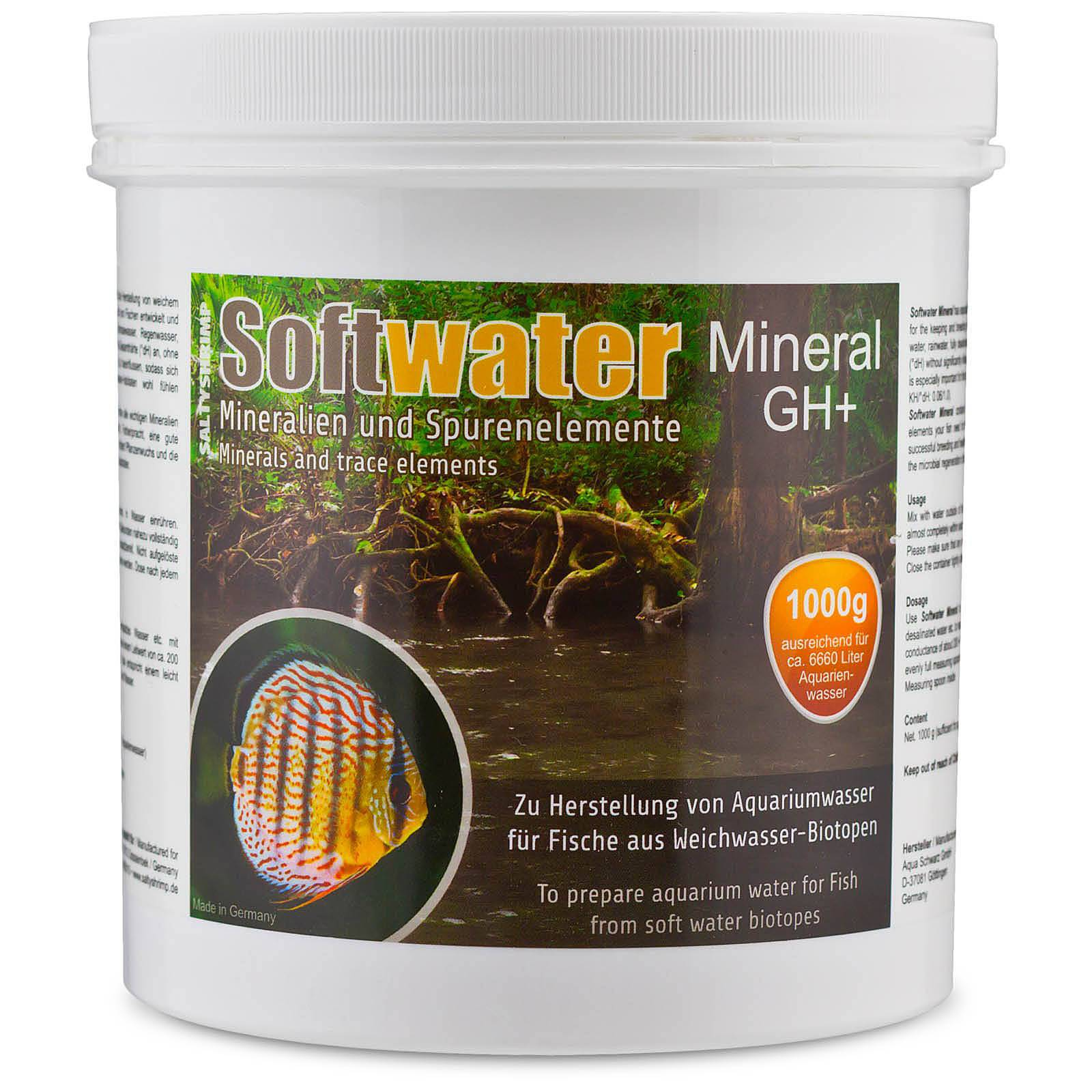 SaltyShrimp - Softwater Mineral GH+  230 g