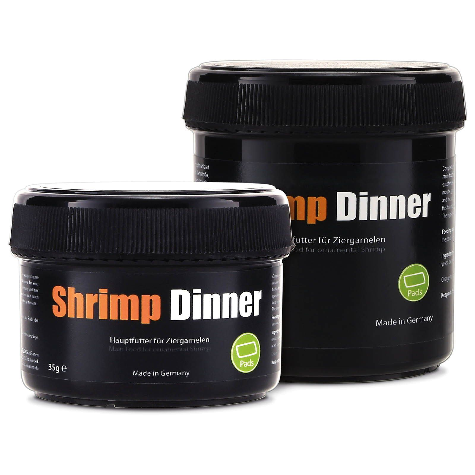 GlasGarten - Shrimp Dinner - Pads