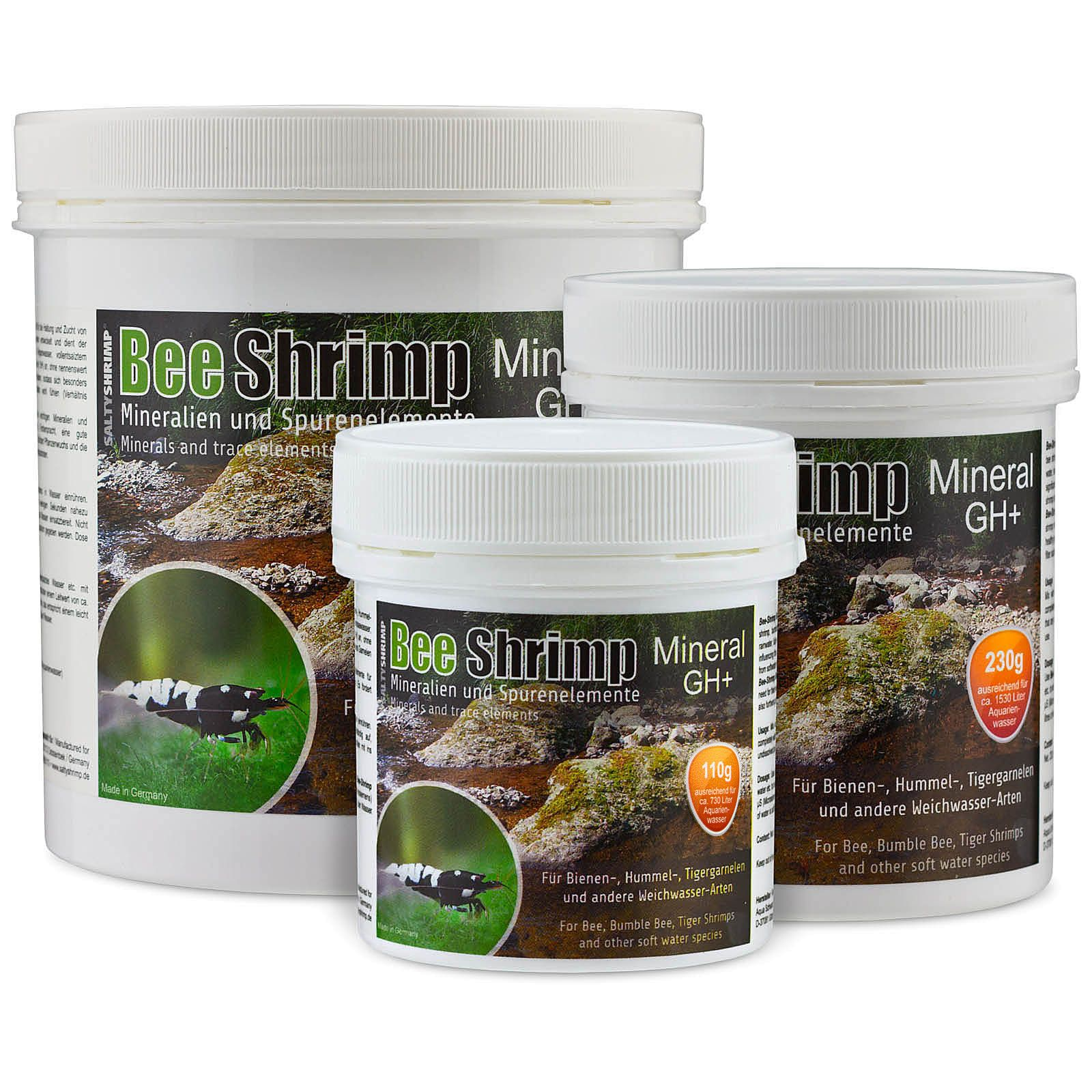 SaltyShrimp - Bee Shrimp Mineral GH+ - 230 g